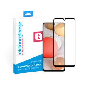 Samsung A42 screenprotector met verpakking Telefoonglaasje