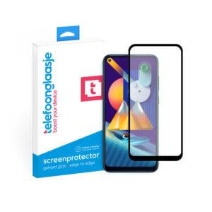 Samsung Galaxy M11 screenprotector met verpakking Telefoonglaasje