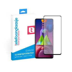 Samsung Galaxy M51 screenprotector met verpakking Telefoonglaasje