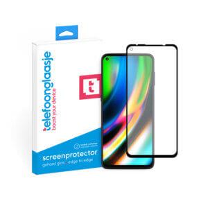 Motorola Moto G9 Plus screenprotector met verpakking Telefoonglaasje