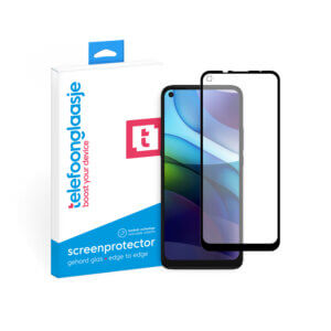 Motorola Moto G9 Power screenprotector met verpakking Telefoonglaasje