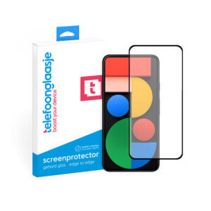 Google Pixel 5 screenprotector Telefoonglaasje