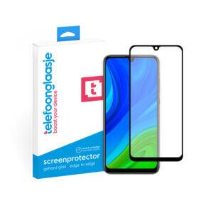 Huawei P Smart 2020 screenprotector met verpakking Telefoonglaasje