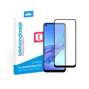 OPPO A53s screenprotector met verpakking Telefoonglaasje