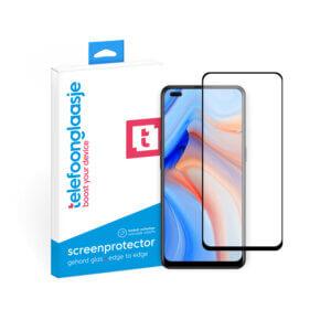OPPO Reno 4 screenprotector met verpakking Telefoonglaasje
