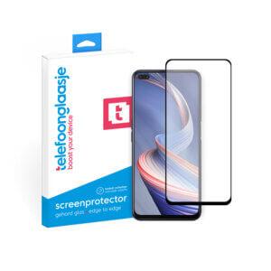 OPPO Reno 4Z screenprotector met verpakking Telefoonglaasje