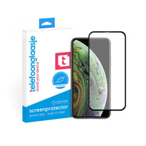iPhone Xs anti-bacteriële screenprotector