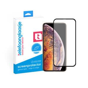 iPhone Xs Max anti-bacteriële screenprotector