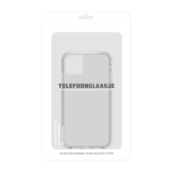 iPhone 11 Clear Case in verpakking