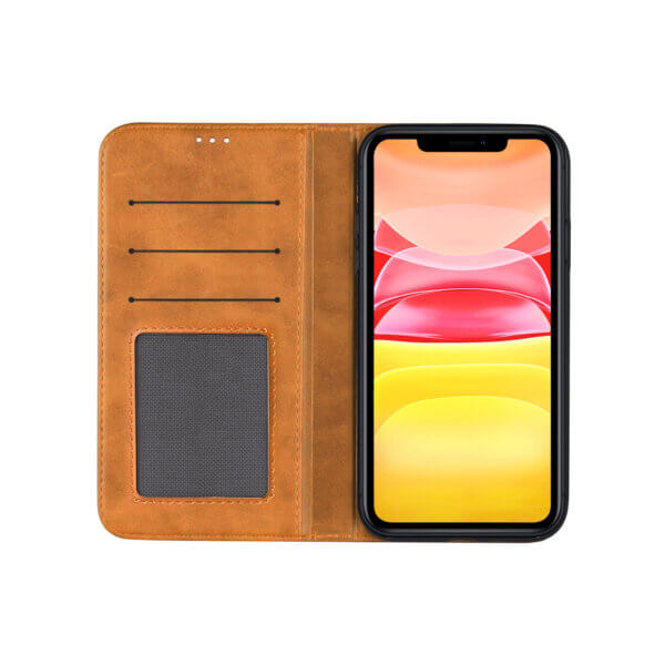 iPhone 11 Bookcase Bruin
