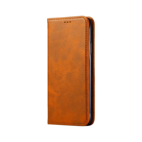iPhone 11 Bookcase Bruin voorzijde