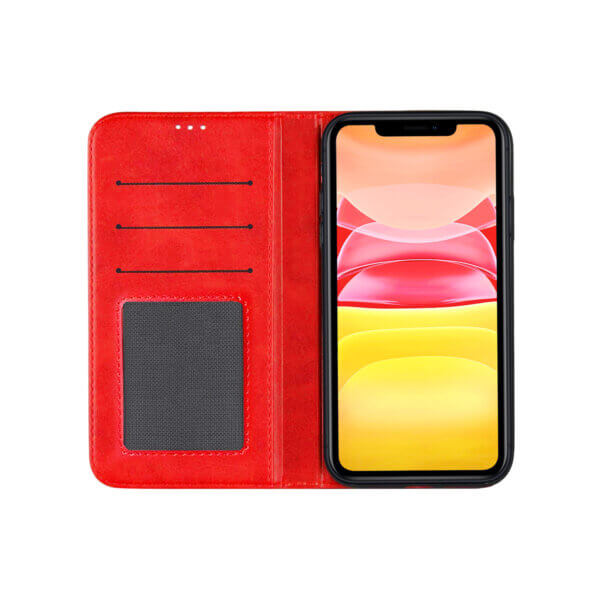 iPhone 11 Bookcase Rood open