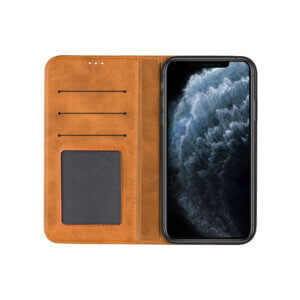 iPhone 11 Pro Bookcase Bruin