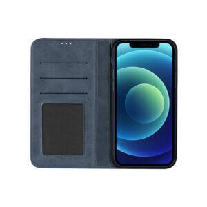 iPhone 12 Bookcase Blauw