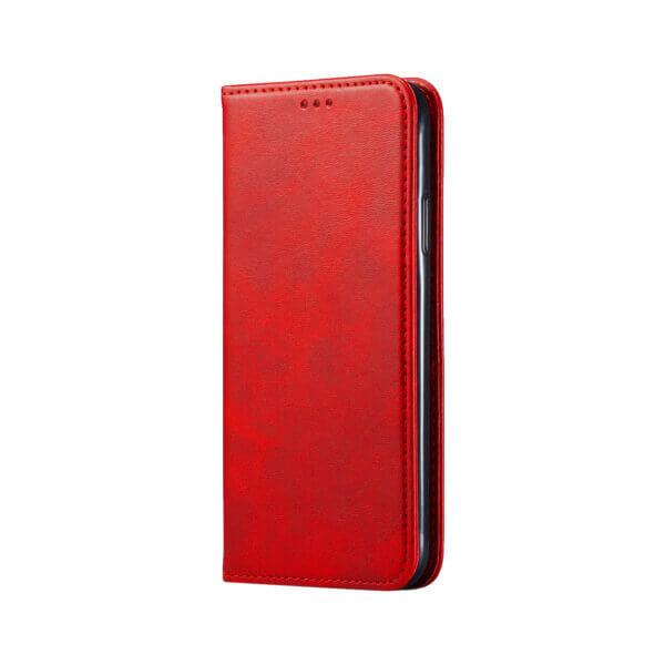 iPhone 12 Bookcase Rood voorzijde