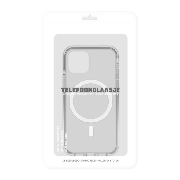 iPhone 12 Magsafe Clear Case in Sealbag