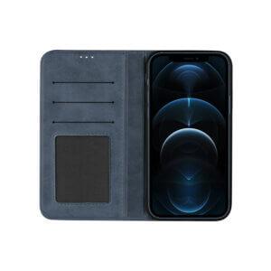 iPhone 12 Pro Bookcase Blauw open