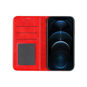 iPhone 12 Pro Bookcase Rood