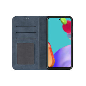Samsung Galaxy A52 Bookcase Blauw