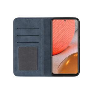 Samsung Galaxy A72 Bookcase Blauw