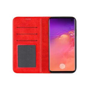 Samsung Galaxy S10 Bookcase Rood