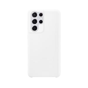 Samsung Galaxy S21 Ultra siliconen case - Wit