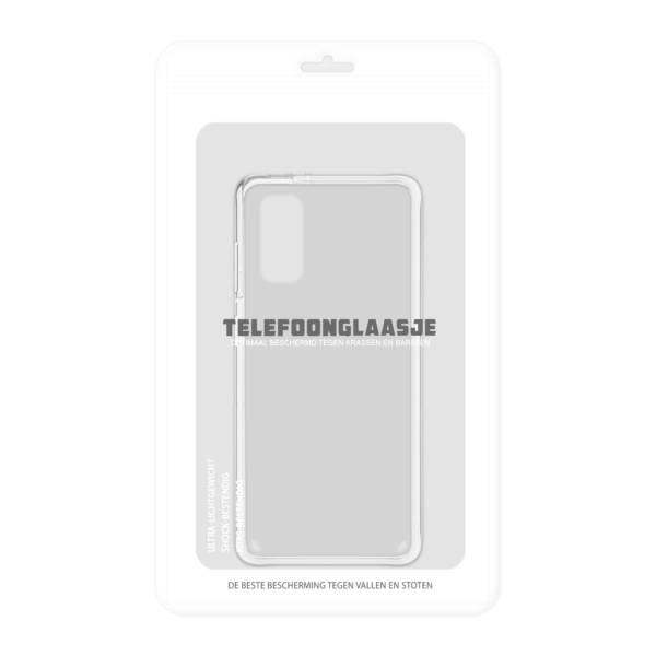 Samsung Galaxy S20 Clear Case Hoesje