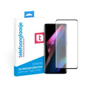 OPPO Find X3 Pro screenprotector met verpakking