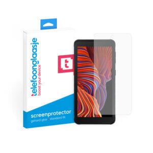 Samsung Galaxy Xcover 5 screenprotector met verpakking