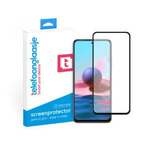 Xiaomi Redmi Note 10 screenprotector met verpakking