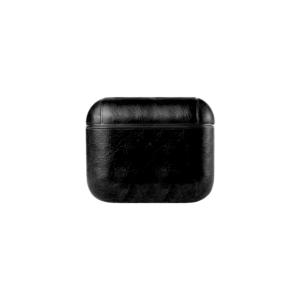 Apple AirPods Pro case PU leer zwart
