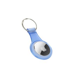 Apple AirTag sleutelhanger - Blauw (Clear)