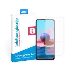 Xiaomi Redmi Note 10 screenprotector gehard glas - met doosje