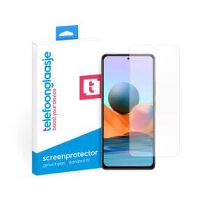 Xiaomi Redmi Note 10 Pro screenprotector gehard glas - met doosje