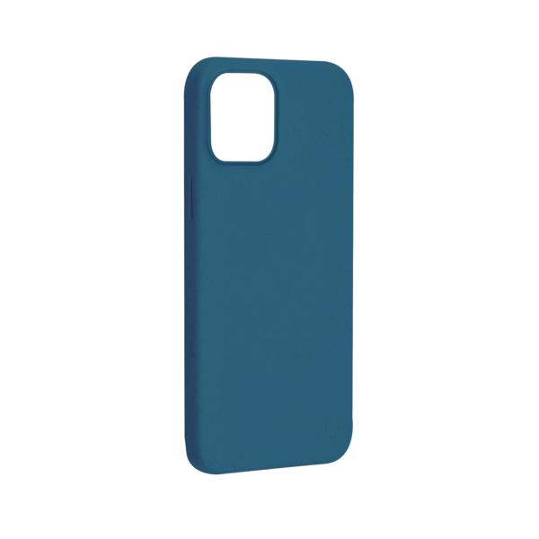 iPhone 12 Bio Hoesje Blauw Links