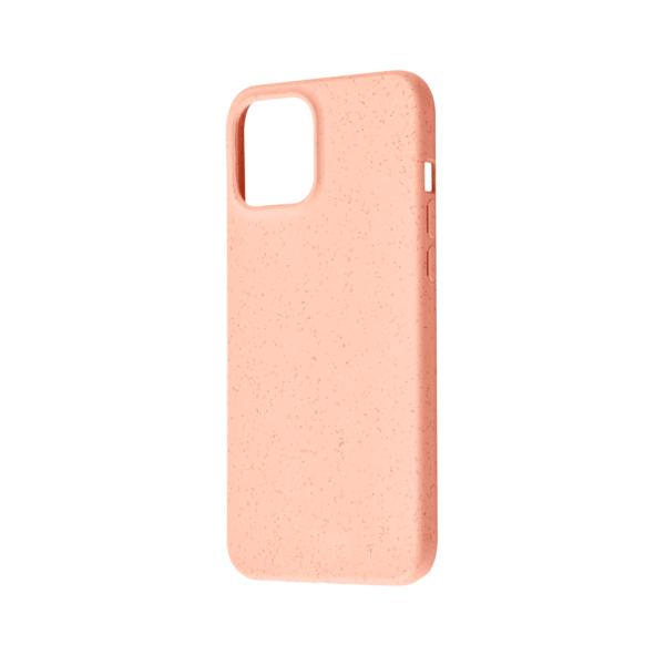 iPhone 12 Bio Hoesje Roze Rechts