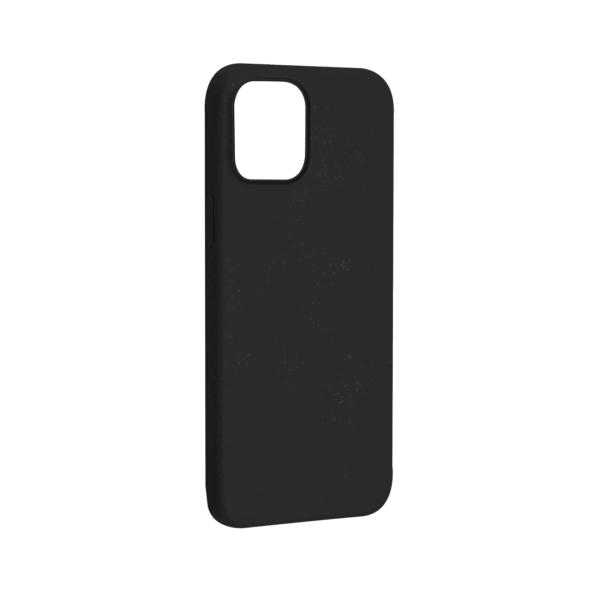iPhone 12 Bio Hoesje Zwart Links
