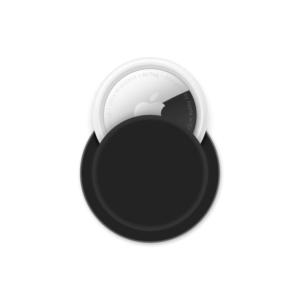 Apple AirTag siliconen sticky case - Zwart