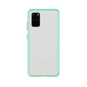 Samsung Galaxy S20 Plus case - Lichtblauw/Transparant