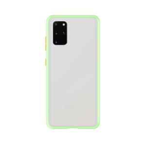 Samsung Galaxy S20 Plus case - Lichtgroen/Transparant