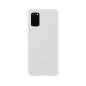 Samsung Galaxy S20 Plus case - Wit/Transparant