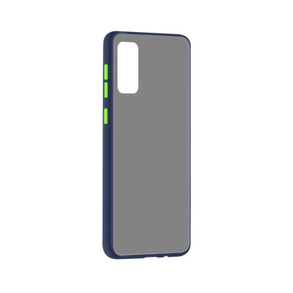 Samsung Galaxy S20 hoesje Blauw/Trans