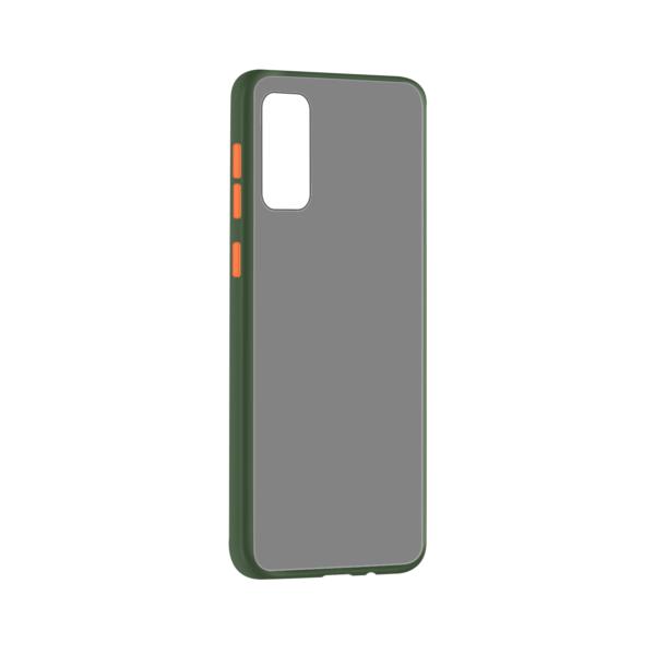 Samsung Galaxy S20 hoesje Groen/Trans