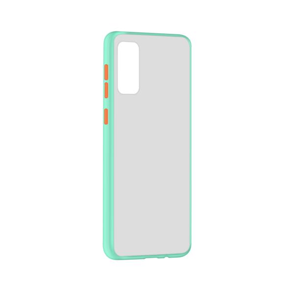 Samsung Galaxy S20 hoesje Lichtblauw/Trans