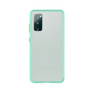 Samsung Galaxy S20 case - Lichtblauw/Transparant