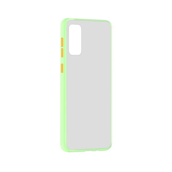 Samsung Galaxy S20 hoesje Lichtgroen/Trans