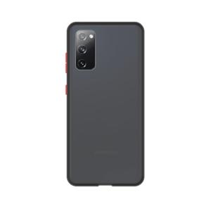 Samsung Galaxy S20 case - Zwart/Transparant