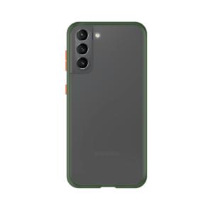 Samsung Galaxy S21 Plus case - Groen/Transparant