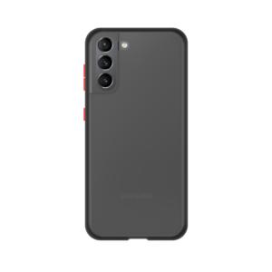 Samsung Galaxy S21 Plus case - Zwart/Transparant