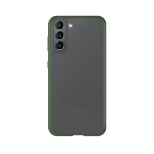 Samsung Galaxy S21 case - Groen/Transparant